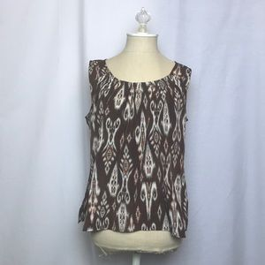 Chico's sleeveless Blouse (Size: 1)